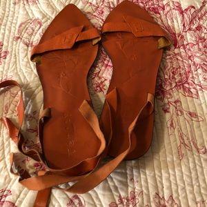 Shoes - Leather sandals Sz 10